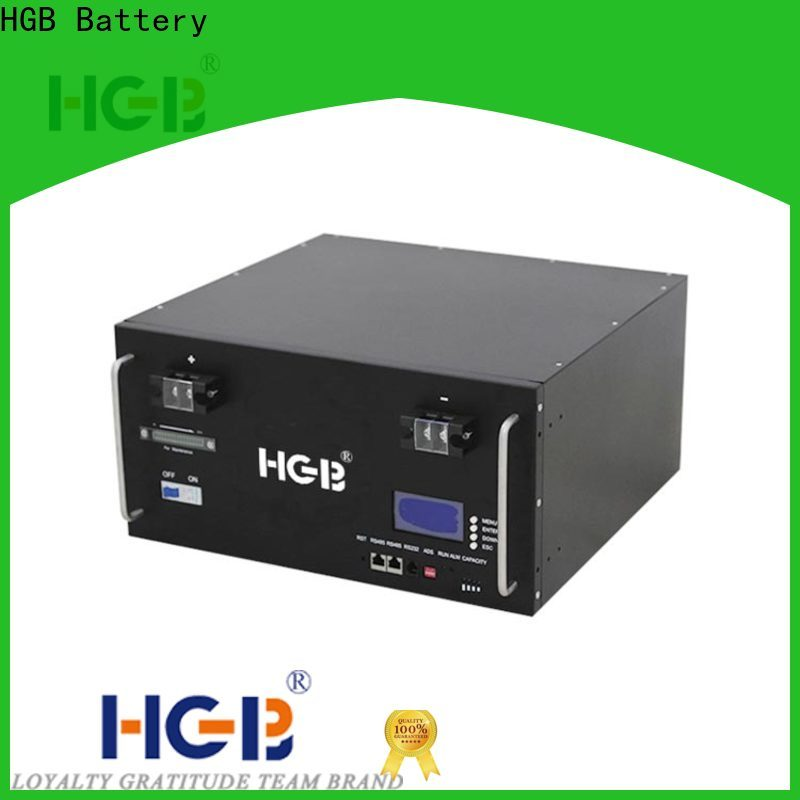 HGB Best station battery wholesale for Cloud/Solar Power Storage System