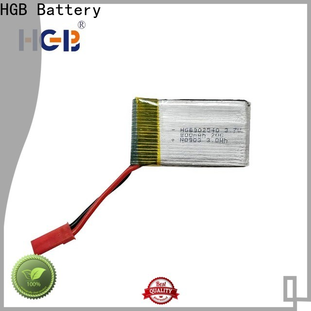 HGB reliable lithium rc battery Supply for RC quadcopters