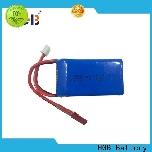 HGB popular rc model batteries wholesale for RC planes