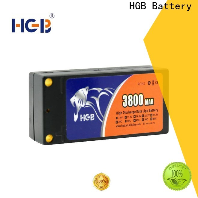 HGB rc battery pack for business for RC car