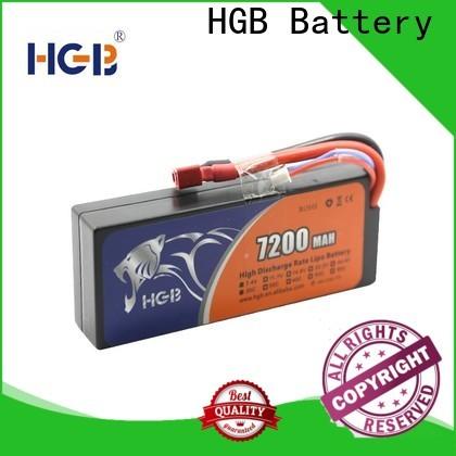 HGB high quality car battery rc Supply for RC planes