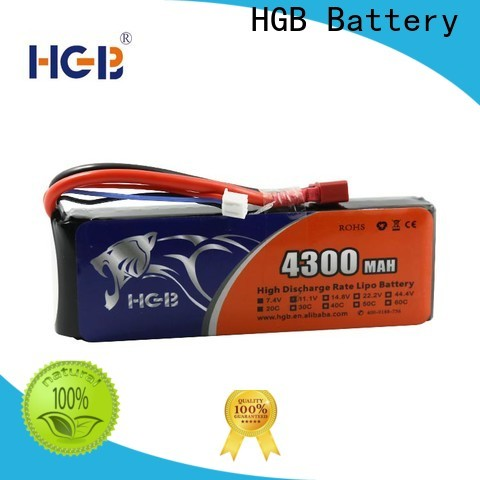 HGB Best helicopter rc battery factory price for RC planes