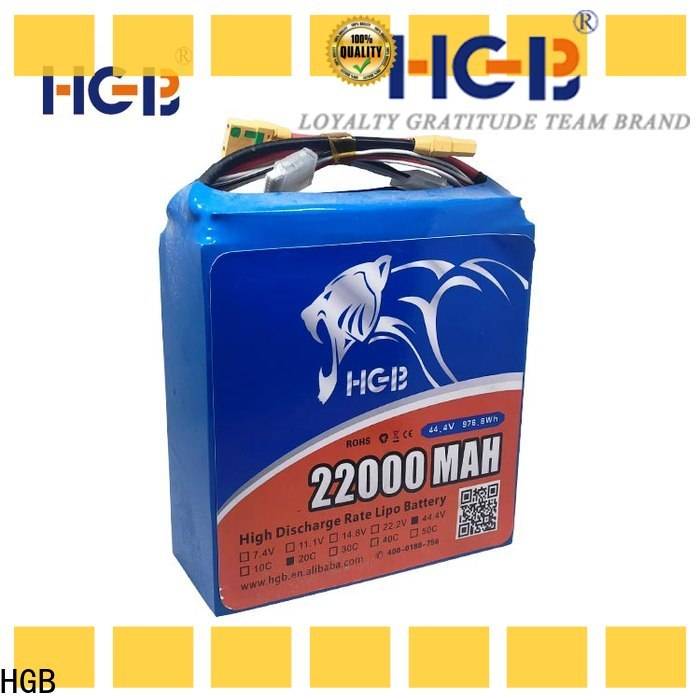 HGB drone battery 10000mah manufacturers manufacturer