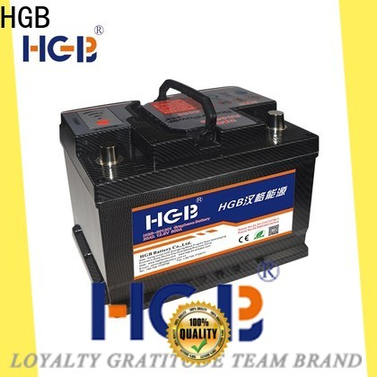 HGB lasting china graphene battery manufacturer for tractors