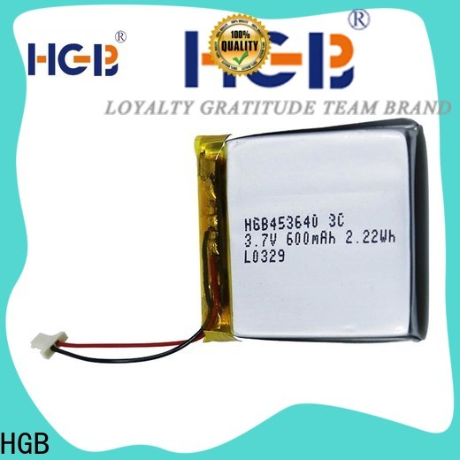 HGB Battery thin lithium polymer battery manufacturers for mobile devices