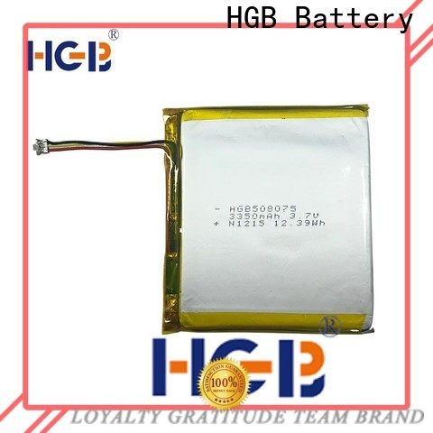 Best rechargeable lithium polymer battery factory price for mobile devices