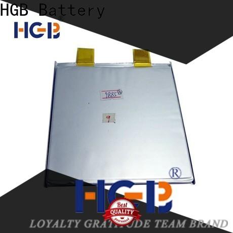 HGB Latest 48v 20ah lifepo4 lithium battery series for EV car
