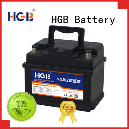 HGB lithium car battery customized for boats