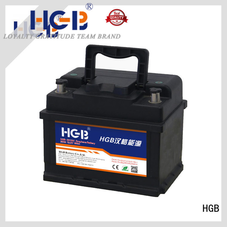 HGB graphene car batteries customized for tractors