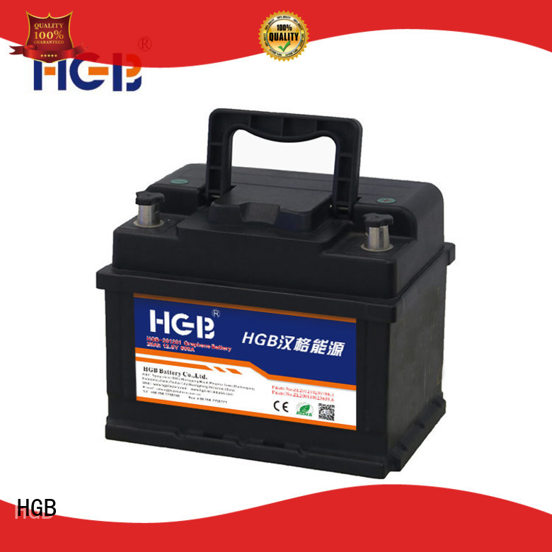 HGB china graphene battery manufacturer for cars