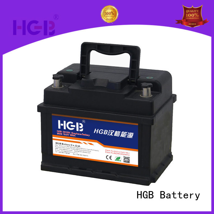convenient graphene lithium ion battery manufacturer for boats HGB