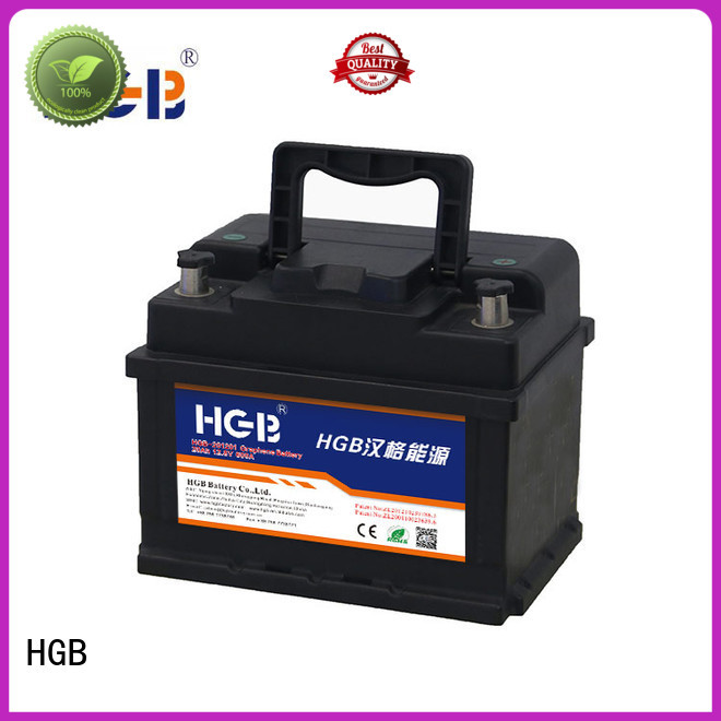 HGB convenient graphene car batteries manufacturer for tractors