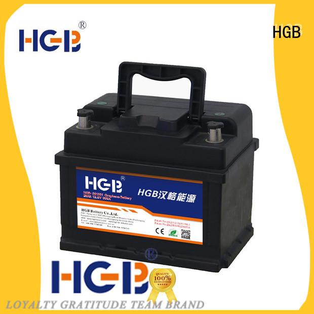 HGB graphene car batteries design for boats