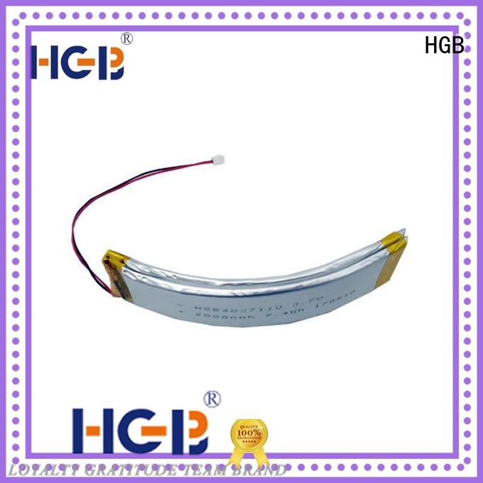 HGB flexible battery customized for wearable battery