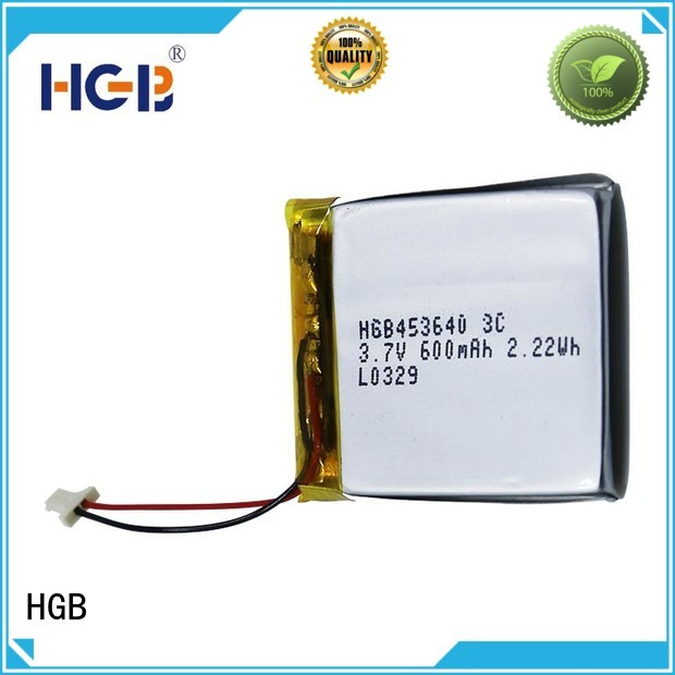 HGB good quality flat cell lithium ion battery factory price for notebook