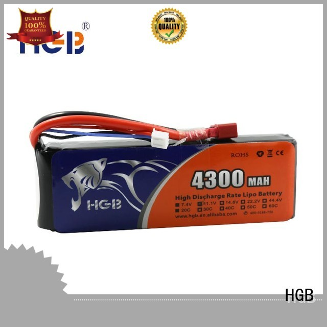 HGB reliable rc lithium ion battery factory for RC planes