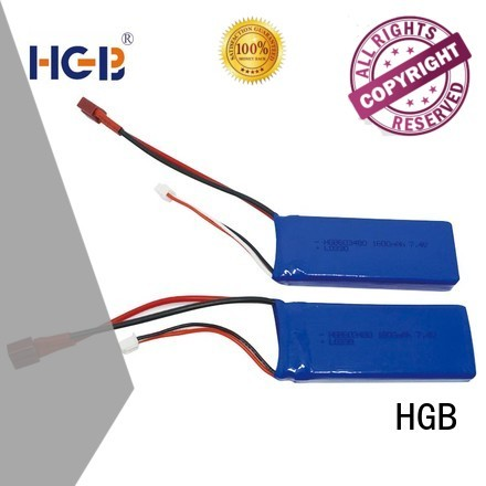 HGB advanced car battery rc factory price for RC quadcopters