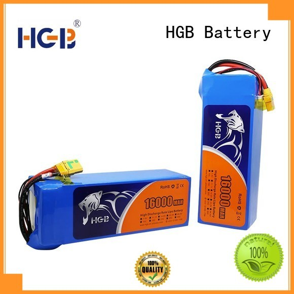 HGB reliable quadcopter battery with good price for UAV