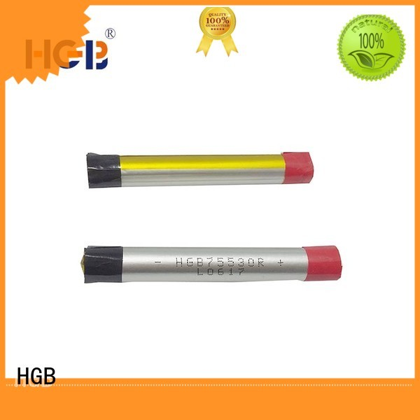 HGB ion polymer battery factory price for rechargeable devices