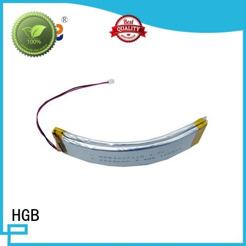 HGB long lasting flexible lithium ion battery supplier for multi-function integrated watch