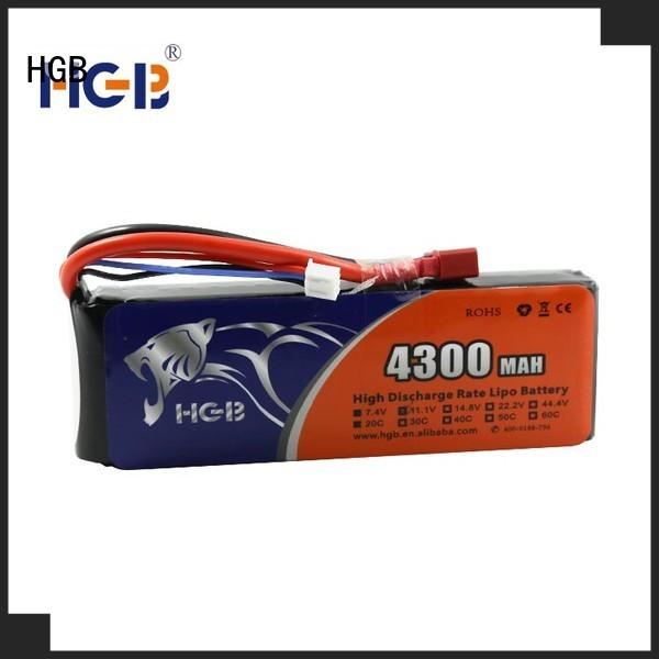 HGB rc airplane batteries supplier for RC car