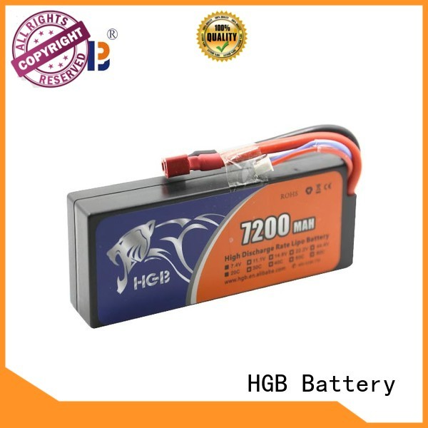 HGB polymer battery supplier for RC car