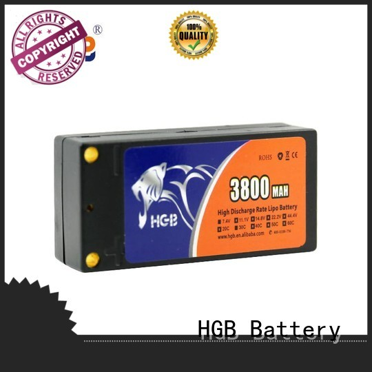 HGB reliable rc helicopter rechargeable batteries factory price for RC helicopter