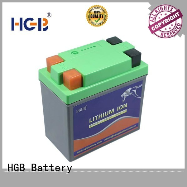 HGB light weight lifepo4 battery voltage series for RC hobby