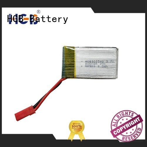 HGB rc battery factory price for RC planes