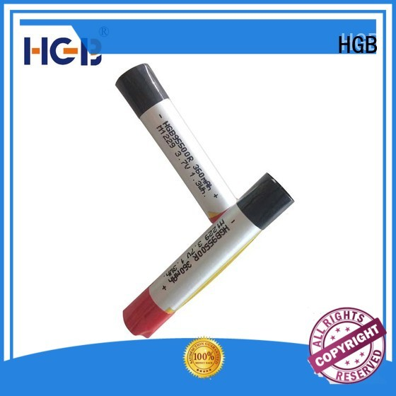 HGB long lasting lithium polymer li poly batteries for rechargeable devices