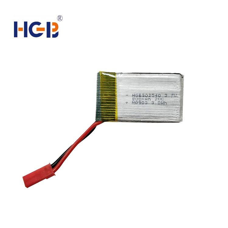 RC battery 3.7V 20C 800mAh HGB902540