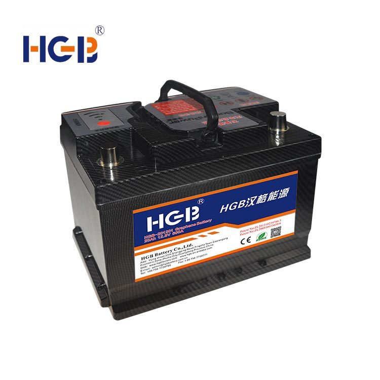 HGB -101202 Graphene Car Battery