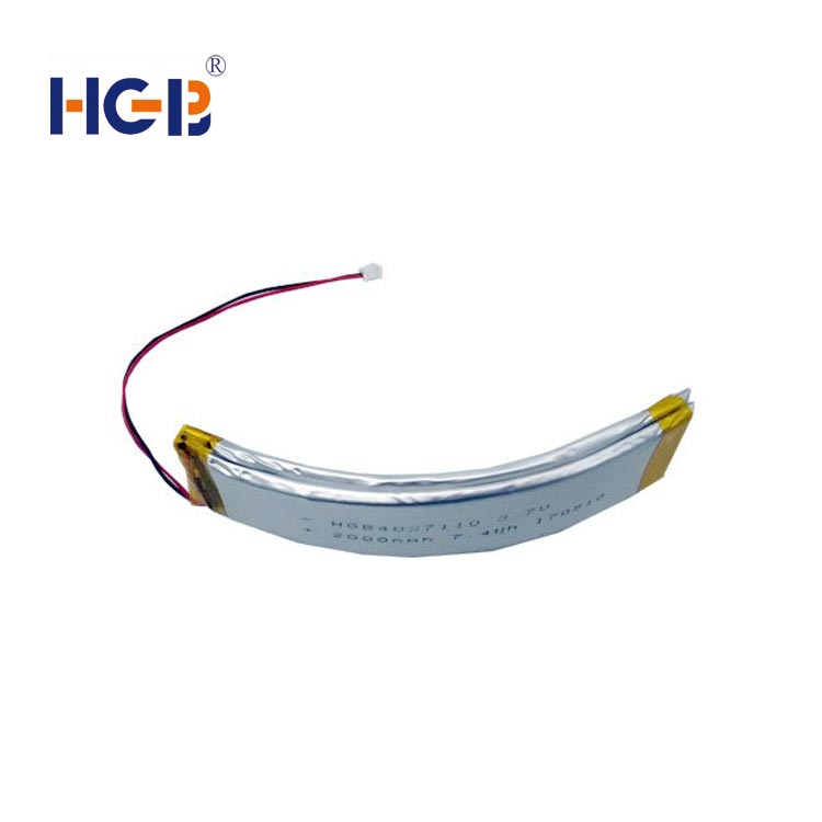 flat 2D shape flexible rechargeable battery manufacturers for multi-function integrated watch-1