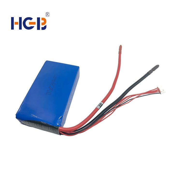 Lifepo4 battery pack 14.8V 4S2P40C 2000mAh HGB7268120