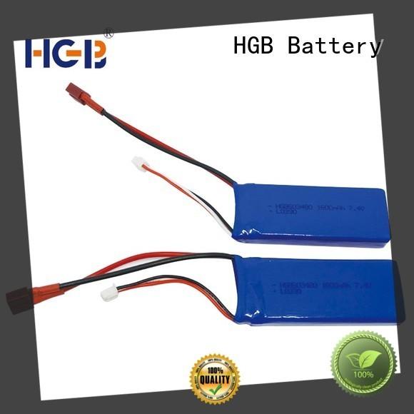 HGB advanced rc batterier supplier for RC planes