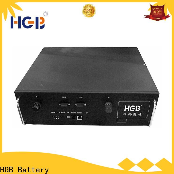 HGB HGB Battery lithium ion phosphate battery Supply for Cloud/Solar Power Storage System