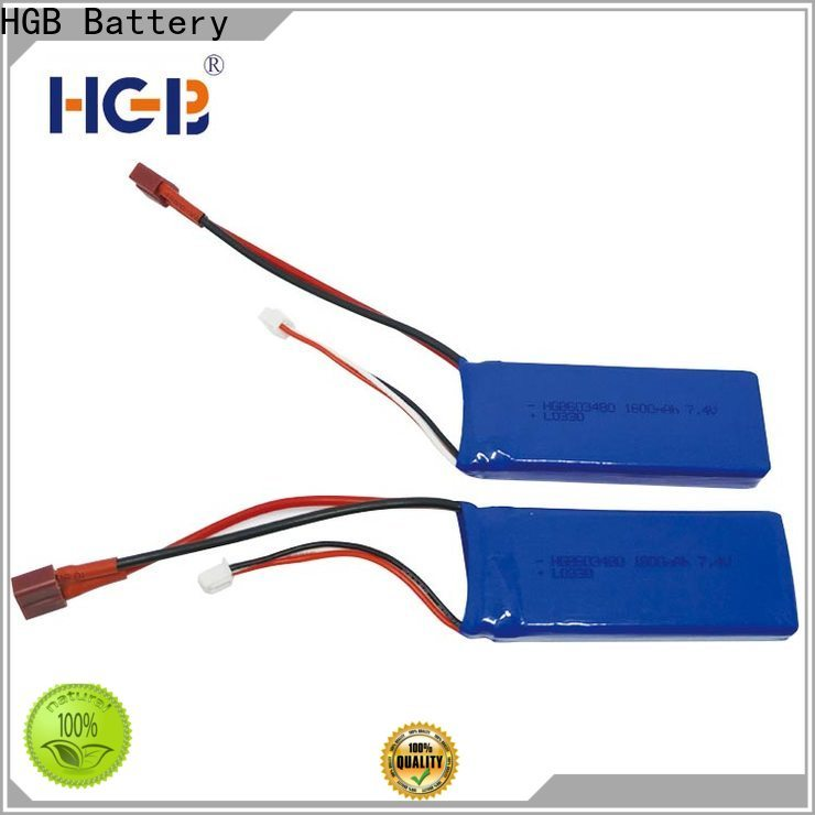 HGB rc rechargeable batteries manufacturers for RC quadcopters
