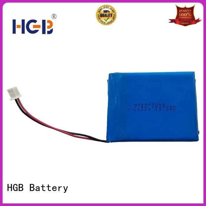 HGB reliable flat lithium battery supplier for digital products