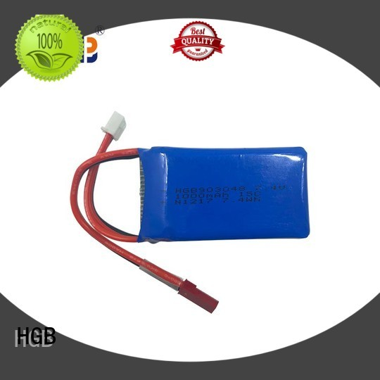 HGB rc airplane batteries wholesale for RC car