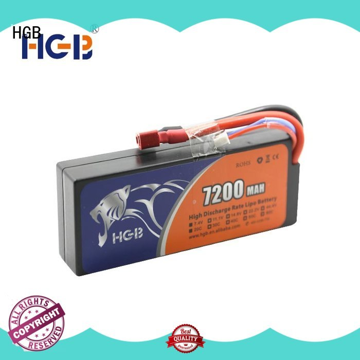 HGB polymer battery directly sale for RC car