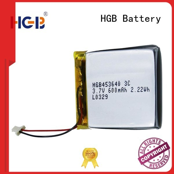 HGB thinnest lithium ion battery manufacturer for computers