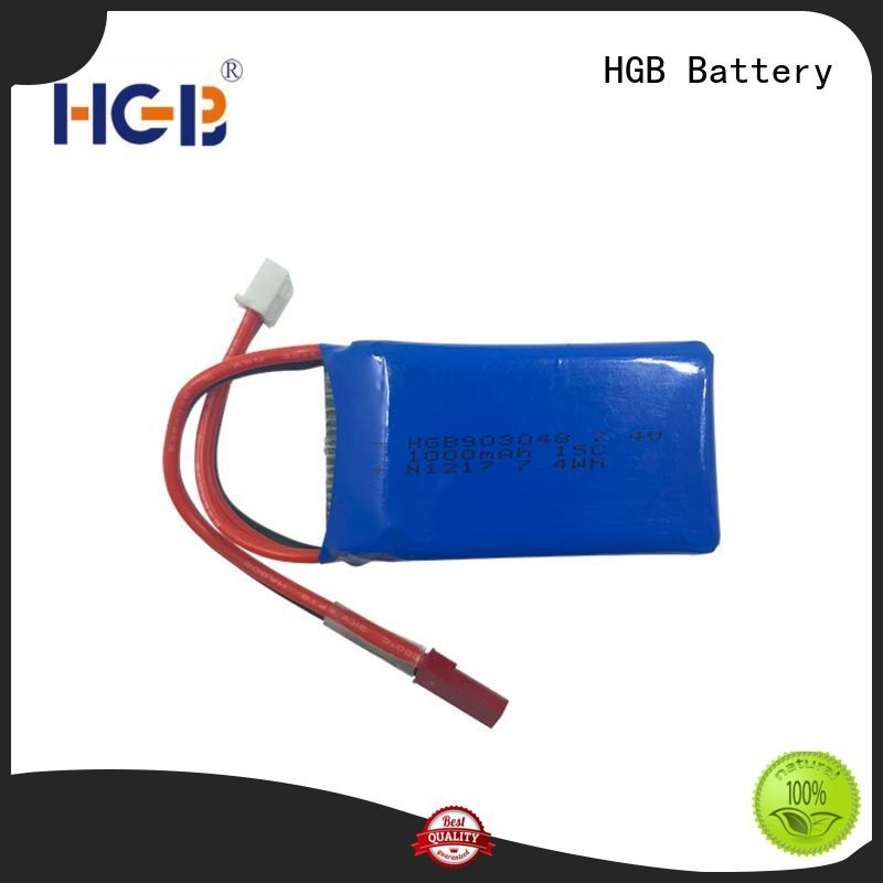 HGB rc batterier supplier for RC helicopter