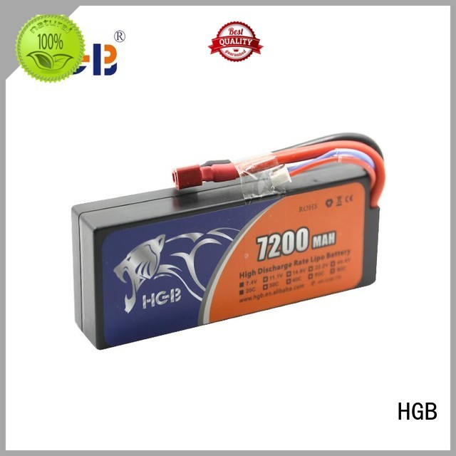 HGB popular rc plane battery factory price for RC helicopter