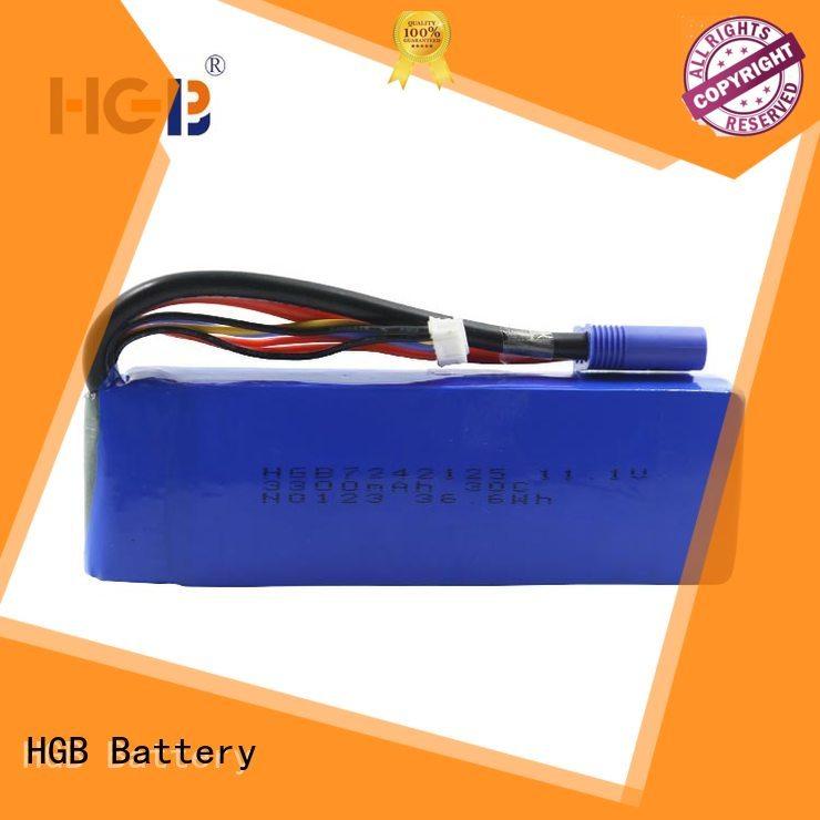 HGB jump starter battery factory price for jump starter