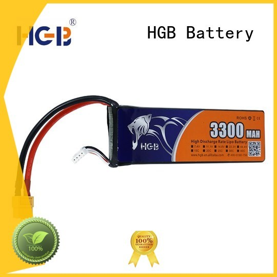 HGB popular lithium rc battery factory price for RC quadcopters