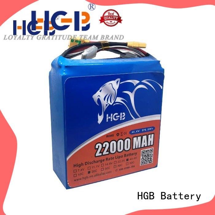 HGB drone battery supplier for UAV