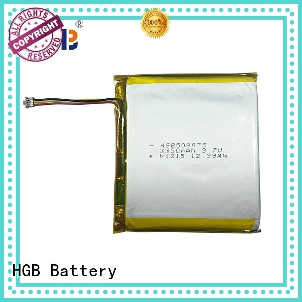 HGB thin lithium polymer battery directly sale for notebook