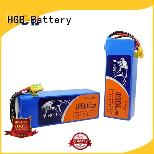 HGB rc quadcopter battery wholesale manufacturer
