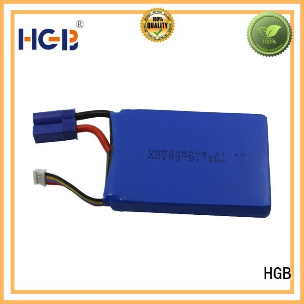 HGB advanced lithium car starter battery factory price for jump starter