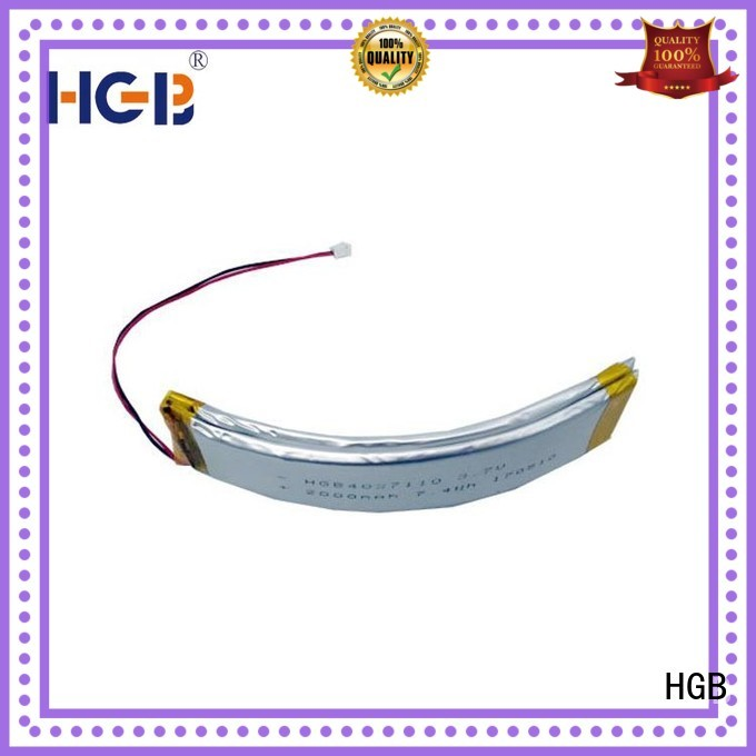 HGB professional flexible battery manufacturer for multi-function integrated watch